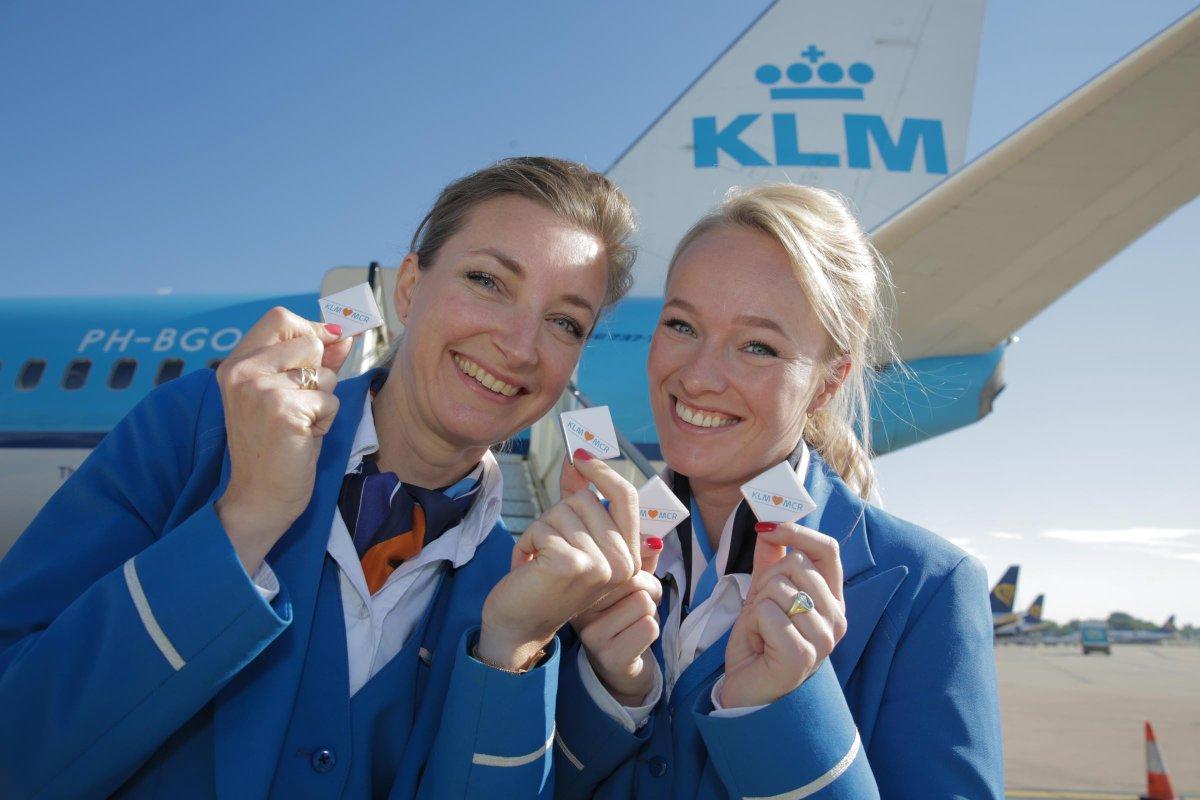 KLM on Uk